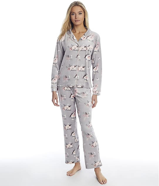 Christian Siriano: Cortina Floral Velour Pajama Set