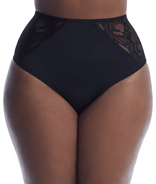 City Chic Keira Shorty in Black(Front Views) 201191