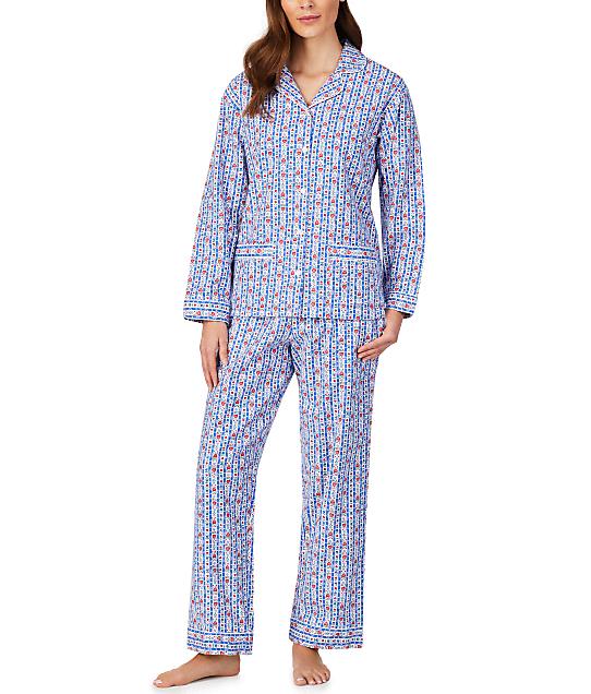 Lanz of Salzburg: Classic Flannel Pajama Set