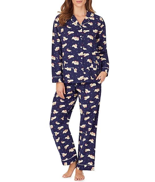Lanz of Salzburg: Sleeping Puppies Flannel Pajama Set