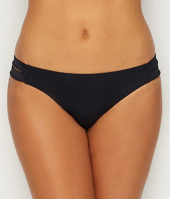 Coco Rave: Solid Strappy Bikini Bottom