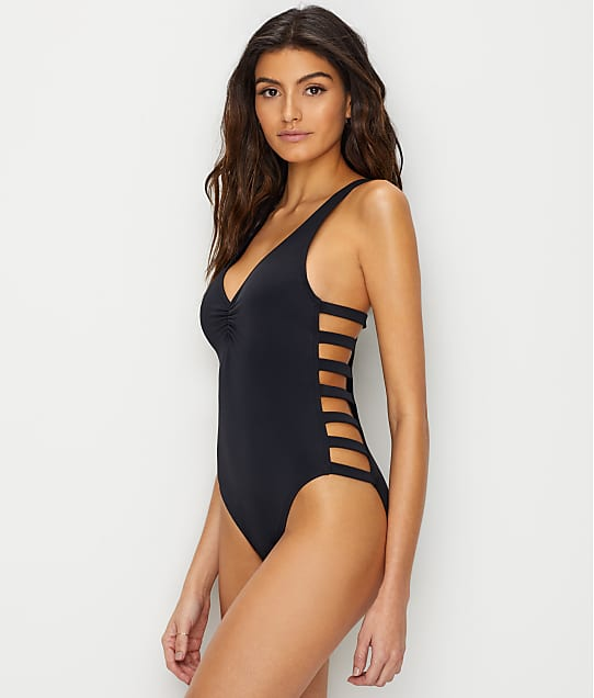 Coco Rave: Solid Paula Strappy One-Piece