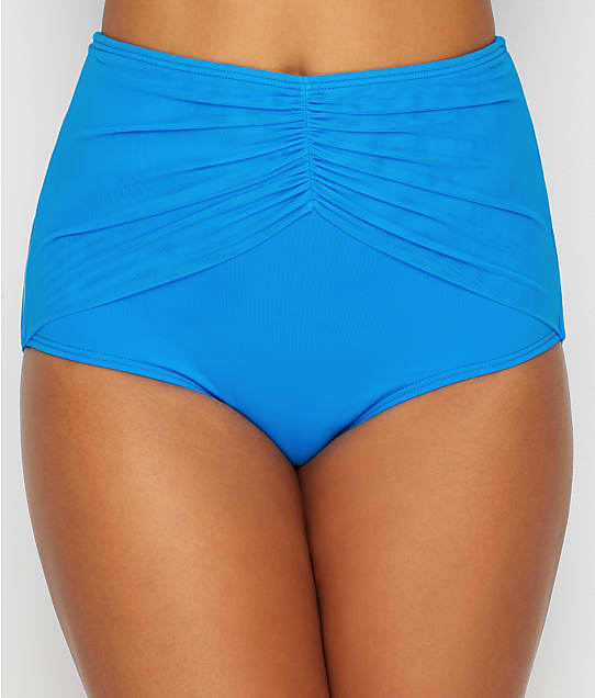 Coco Reef: Classic Solid Diva High-Waist Bikini Bottom