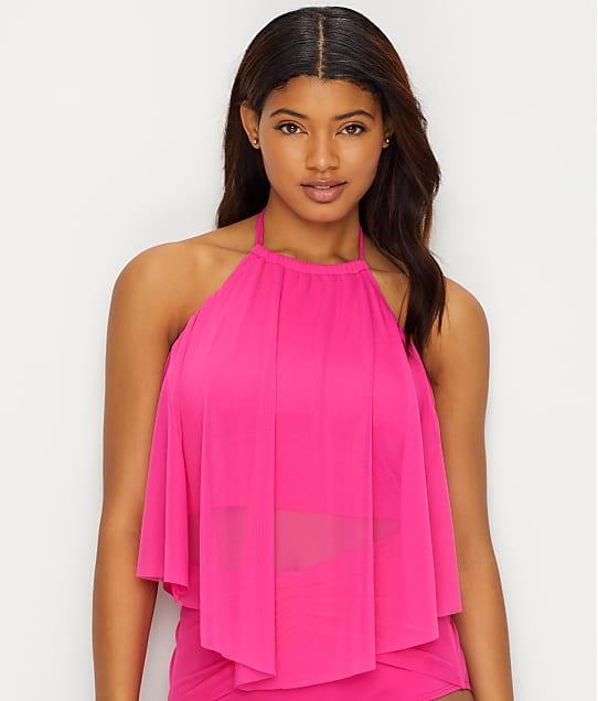 Coco Reef: Classic Solid Aura Crop Underwire Bikini Top