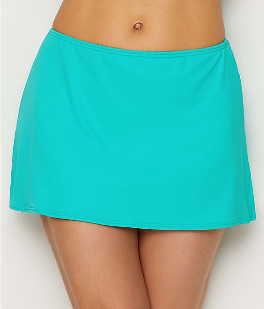 Coco Reef: Classic Solid Skirted Swim Bottom