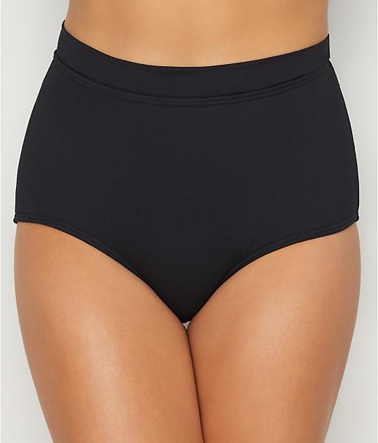 Coco Reef: Classic Solids High-Waist Bikini Bottom