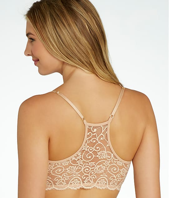 Commando: Double Take Lace Racerback Bralette