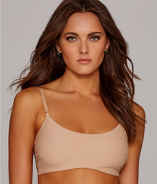 Commando: Cotton Scoop Bralette