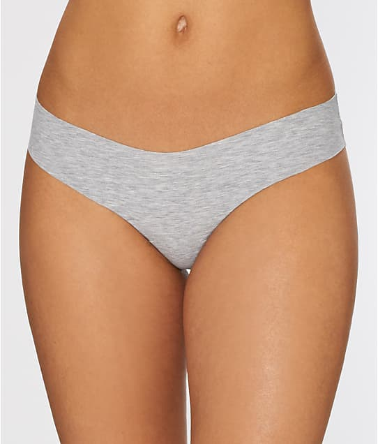Commando: Heathered Cotton Thong