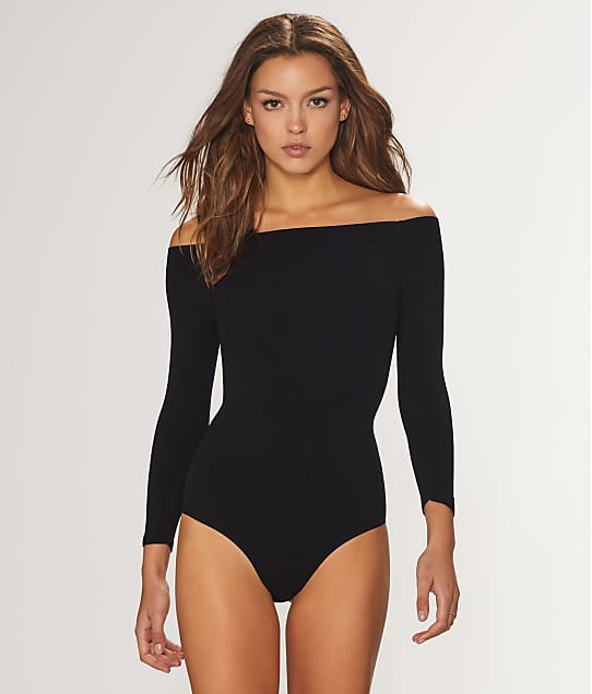 Commando: Ballet Body Off-The-Shoulder Bodysuit