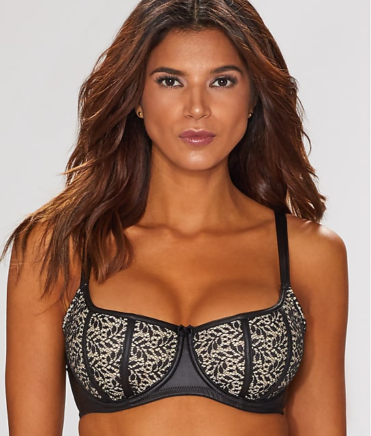 Contradiction: Flaunt Lace Balconette Bra