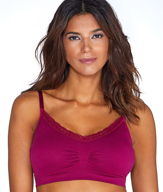 Coobie: Lace V-Neck Bralette Plus Size