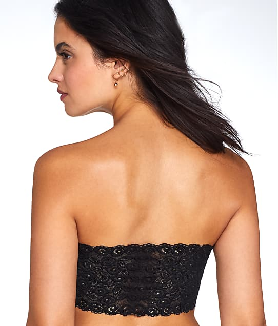 Coobie: Strapless Lace Back Wire-Free Bandeau