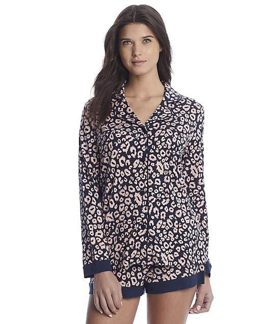Cosabella: Bella Printed Knit Top & Boxer Pajama Set