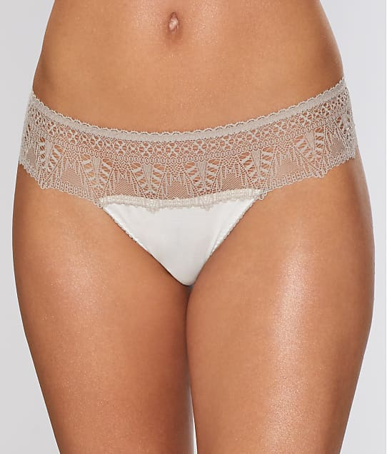 Cosabella: Bacall Two-Tone Low Rise Thong