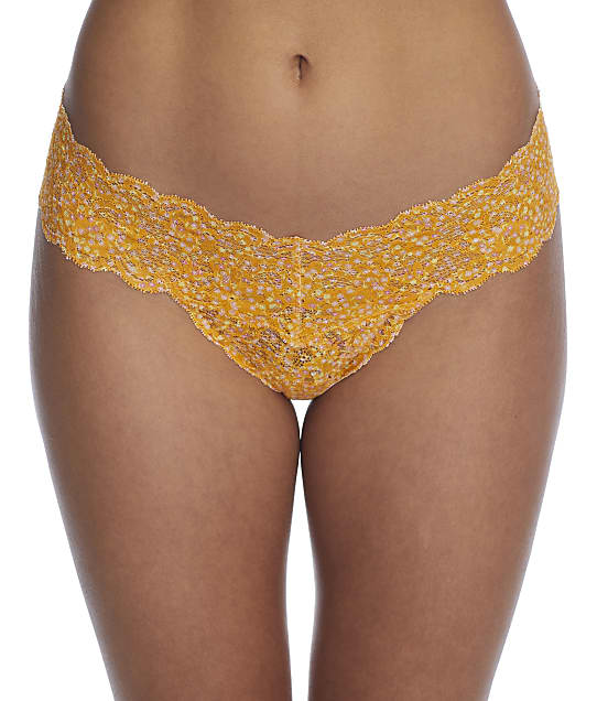 Cosabella Never Say Never Cutie Printed Low Rise Thong in Floral Sole(Front Views) NEVEP0321