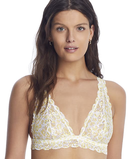 Cosabella Never Say Never Triangle Bralette in Animal Limone(Full Sets) NEVEP1321