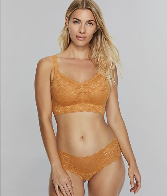 Cosabella Never Say Never Sweetie Curvy Bralette in Sole(Front Views) NEVER1310