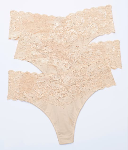 Cosabella: Plus Size Never Say Never Lovely Thong Size 3-Pack