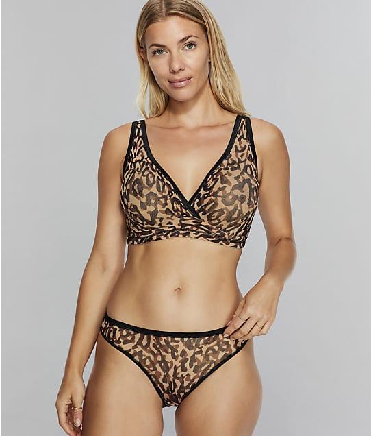 Cosabella Soire Confidence Curvy Bralette in Leopard(Front Views) SOICP1310
