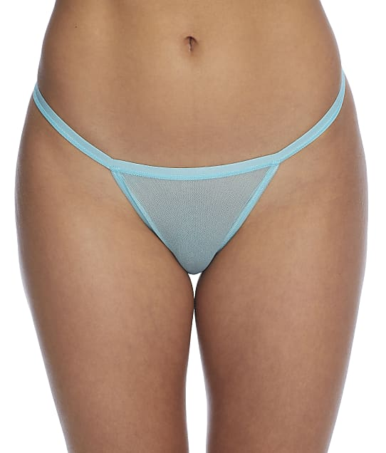 Cosabella Soire Confidence G-String in Blue Capri(Front Views) SOIRC0221C