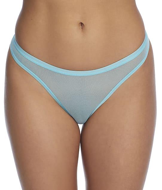 Cosabella Soire Confidence Classic Thong in Blue Capri(Front Views) SOIRC0322C