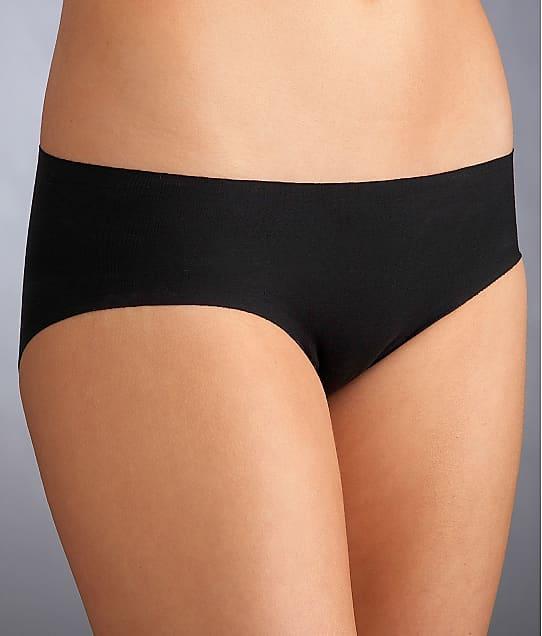 Commando Cotton Low Rise Bikini in Black CCBK09BX