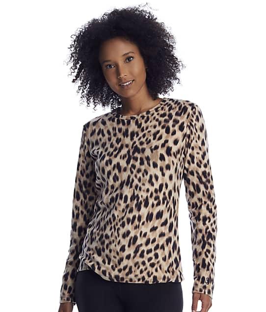 Cuddl Duds: Fleecewear Animal Long Sleeve Top