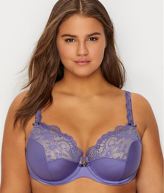 527b362787 Curvy Couture Tulip Lace Push-Up Bra