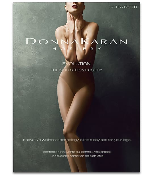 Donna Karan Hosiery Evolution Ultra Sheer Pantyhose in Nude D0C320