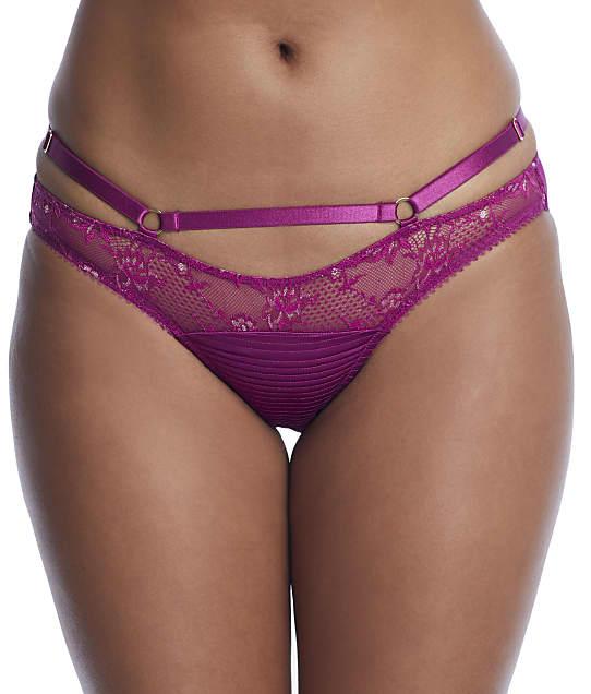 Dita Von Teese Madame X Cage Bikini in Magenta(Front Views) D26945