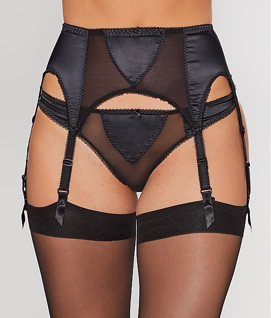 Dita Von Teese: Sheer Witchery Satin Garter Belt