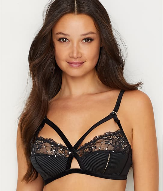 Madame X Sequin Wire Free Bra by Dita Von Teese