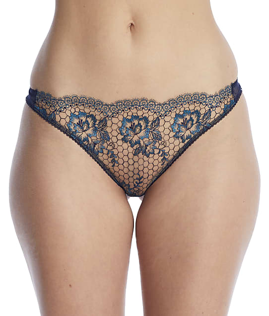 Dita Von Teese Evelina Thong in Shady Navy(Front Views) D23023