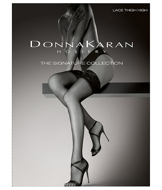 Donna Karan Hosiery: Signature Lace Thigh Highs