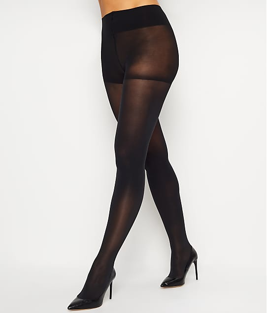 DKNY Opaque Control Top Tights in Black 412NB