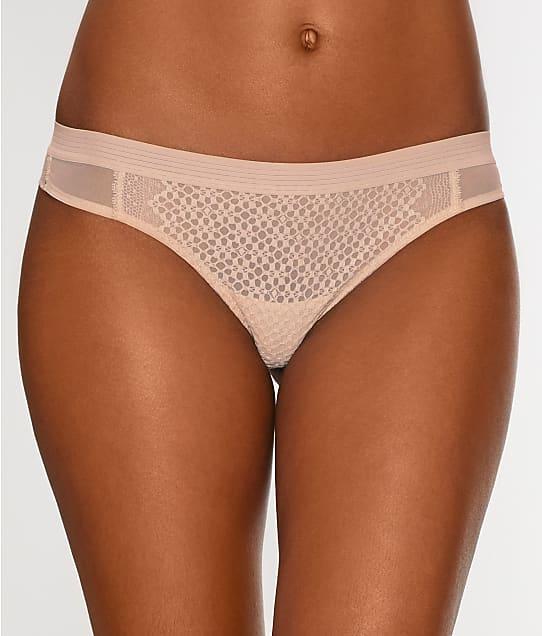 DKNY: Sheer Lace Thong