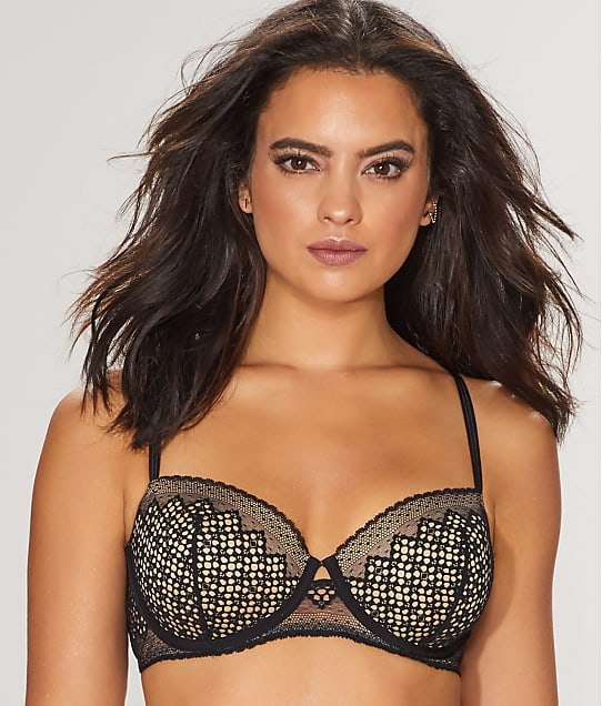 DKNY: Sheer Lace Balconette Bra
