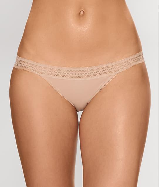 ab8fd54fee DKNY Classic Cotton Lace Trim Bikini