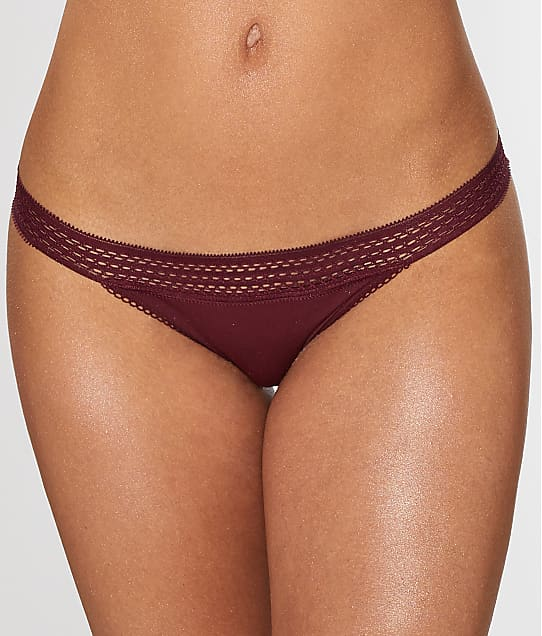 DKNY: Classic Cotton Lace Trim Bikini