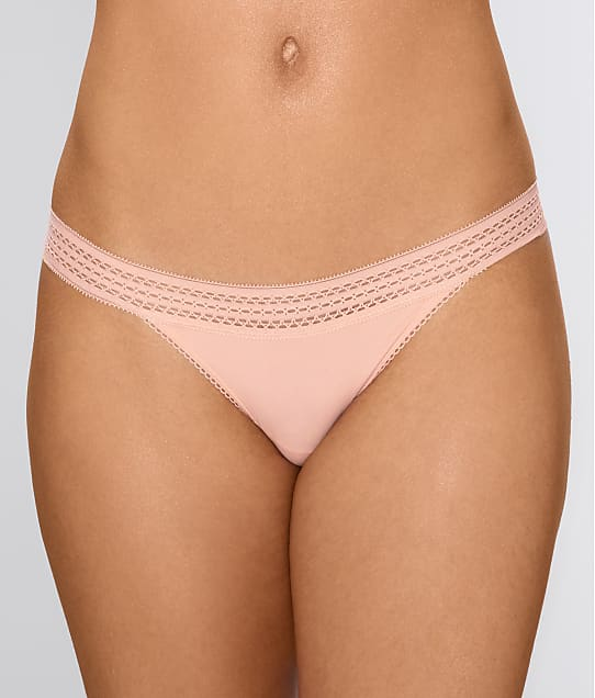 DKNY: Classic Lace Trim Thong