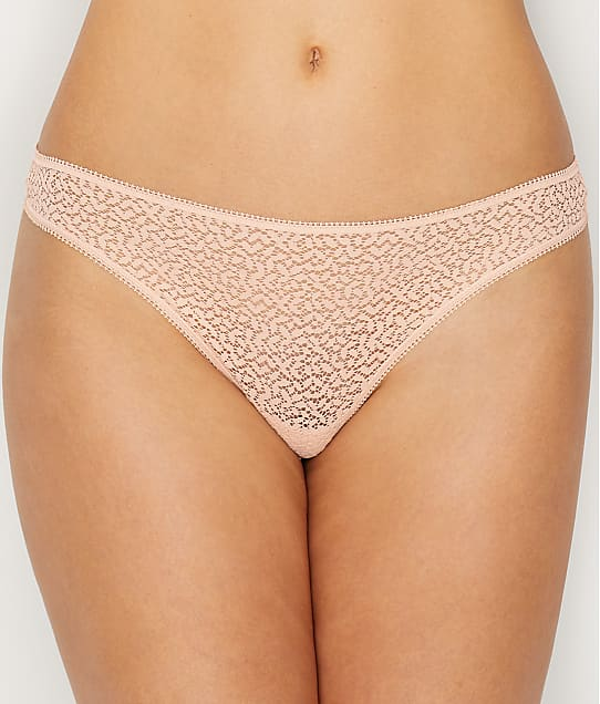 DKNY Modern Lace Thong in Rose Water DK5013