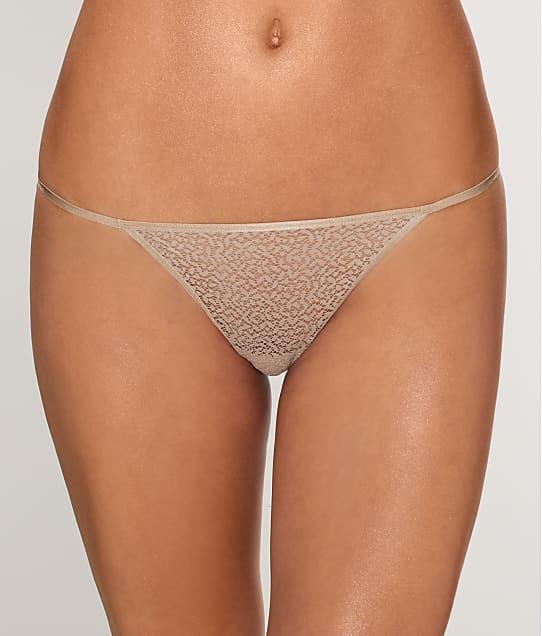 DKNY Modern Lace String Bikini in Champagne DK5015