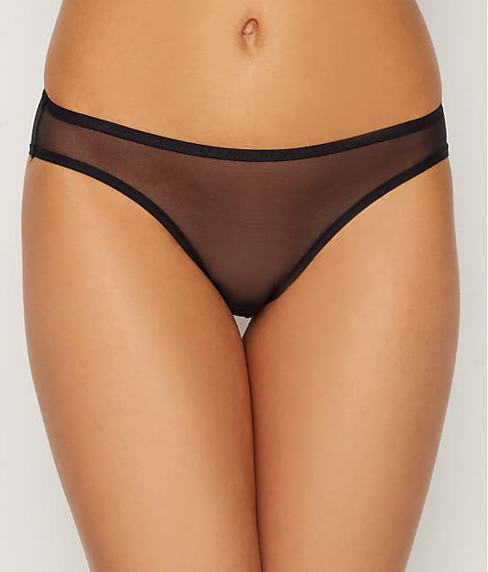 DKNY Mesh Bikini in Black(Front Views) DK5086
