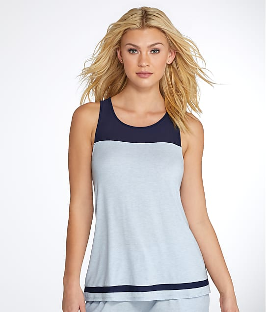 DKNY: Blue Note Knit Tank