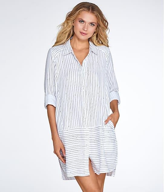 DKNY: Woven Flannel Sleep Shirt