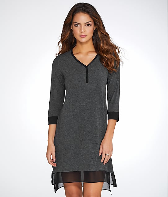 DKNY: Season Silhouettes Knit Sleep Shirt