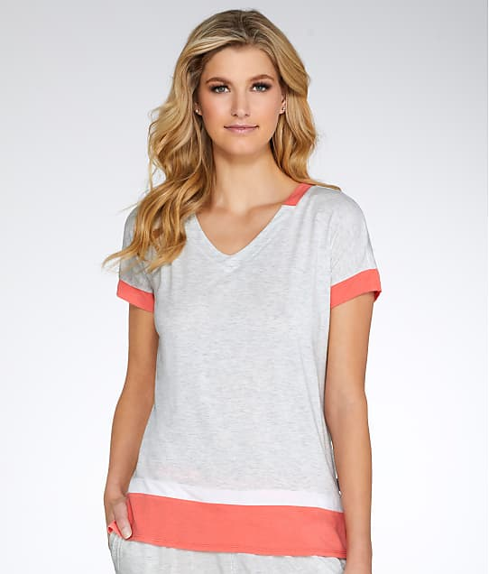 DKNY: Urban Essentials Colorblock Modal Sleep Top