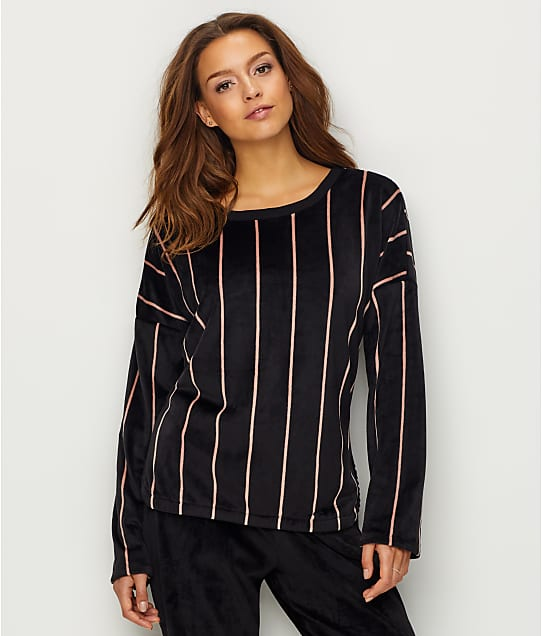 DKNY: Elevated Leisure Velour Sleep Top