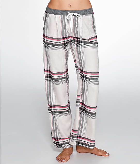 DKNY: Checked In Woven Pajama Pants